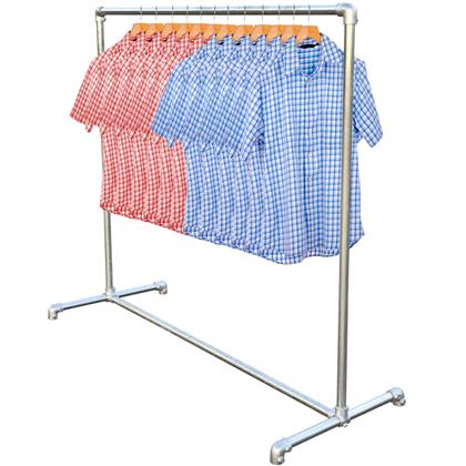 Single Garment Rail / Cloths Rail